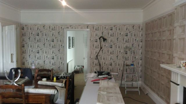 Painted and wall papered image 2